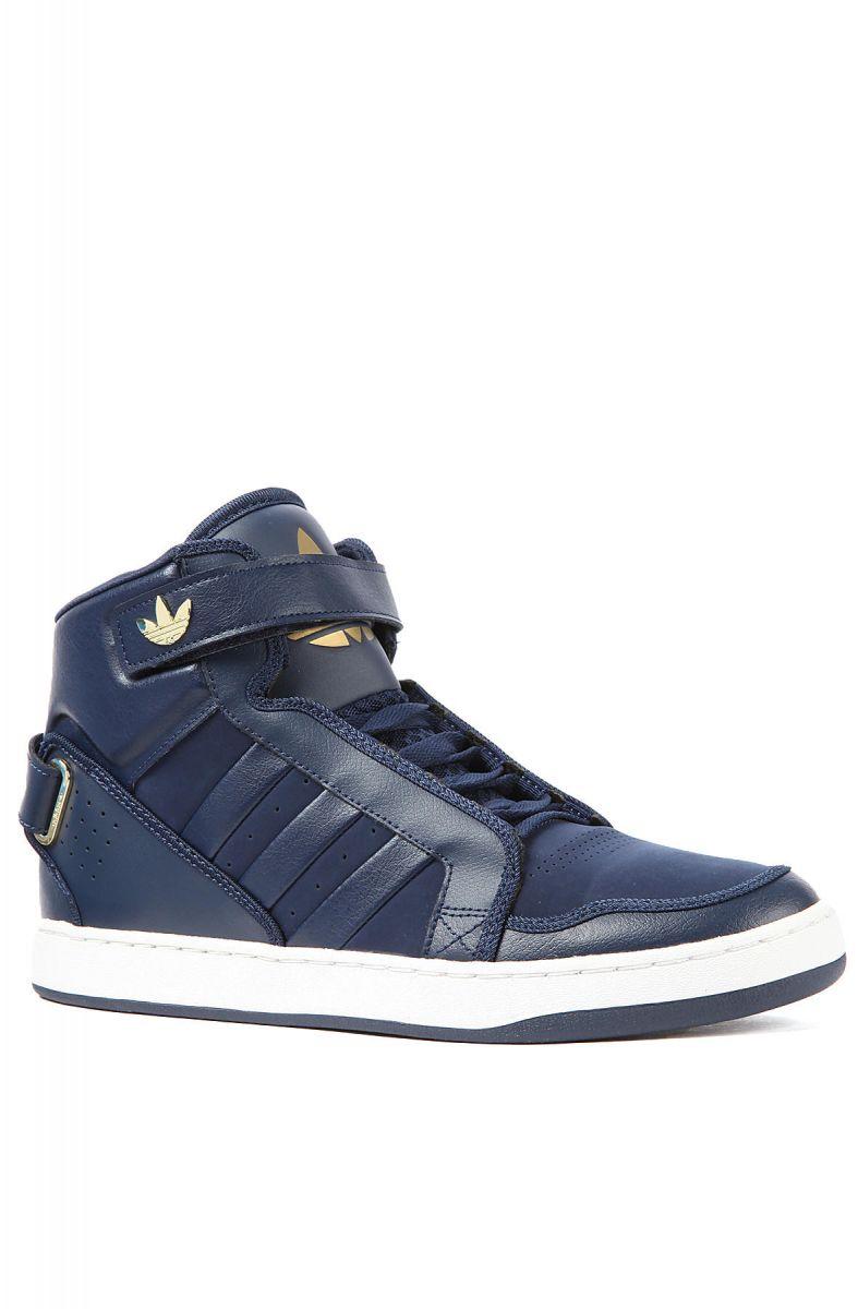 plus de photos 492e4 1491b The AR 3.0 Sneaker in Dark Indigo, White, & Metallic Gold