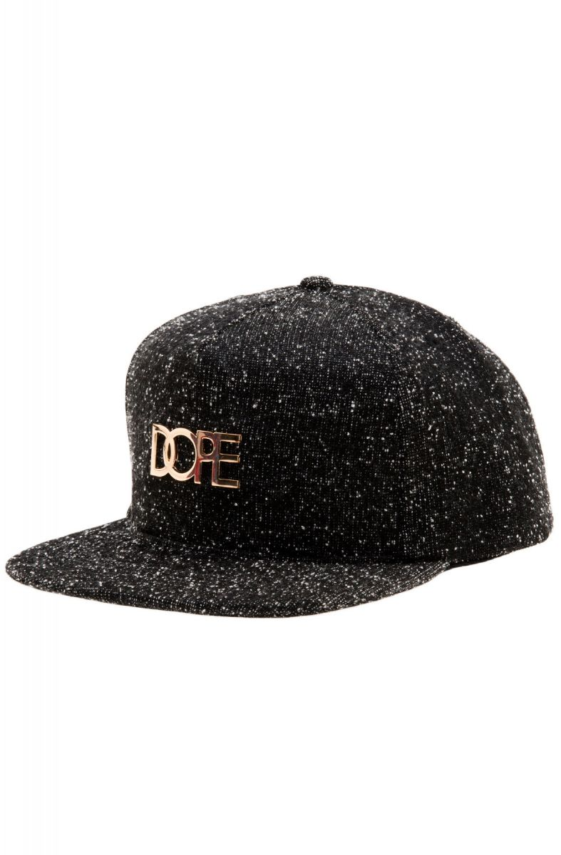 newest collection 910d5 f9311 DOPE Hat Knit Metal Logo in Black