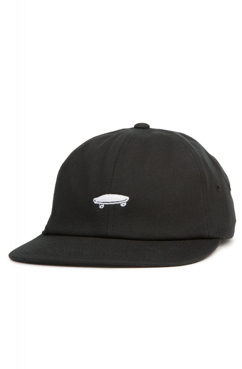 8657f93c940 Vans Hat Salton ll Dad Black White