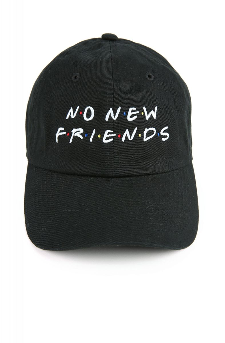 0459173eb The Friends Dad Hat in Black