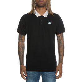 The Waves Polo In Black by Pink Dolphin