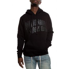 Arch Hoodie In Black by Billionaire Boys Club