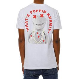 The Kermit Paid In Full Capsule T Shirt In White by 8&Amp;9 Clothing
