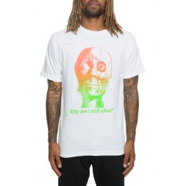 The Reanimator Tee In White by Bow3 Ry
