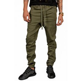 The Rich V3 Joggers In Olive by Seize&Amp;Desist