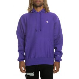 The Reverse Weave Pullover Hoodie In Purple by Champion