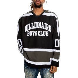 The Bb Dont Give A Puck Is Knit In Black by Billionaire Boys Club