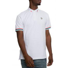 3rd Eye Short Sleeve Polo In White by Billionaire Boys Club