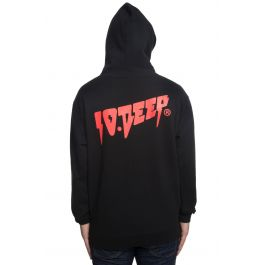 The Sound And Fury Hoodie In Black by 10 Deep