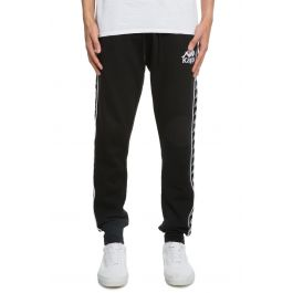 The Authentic Lucio Sweat Pant In Black by Kappa
