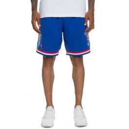 The All Star East Swingman Shorts In Blue by Mitchell &Amp; Ness