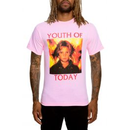 The Charlie Tee In Pink by Bow3 Ry