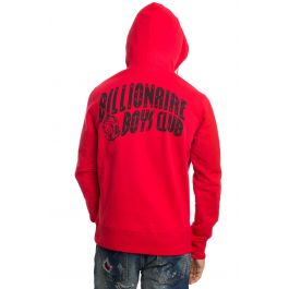 Arch Pull Hoodie In Tango Red by Billionaire Boys Club