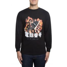 The Ex Files Long Sleeve In Black by 10 Deep