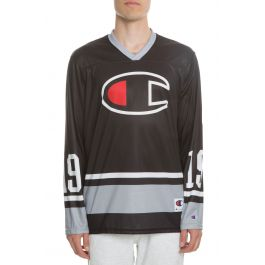 The Big C Colorblocked Hockey Jersey In Raider Nation by Champion