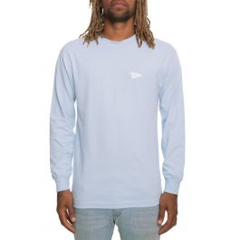 The Big Arch Pennant Long Sleeve In Powder Blue by Primitive
