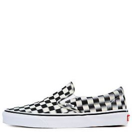 The Men's Vans U Classic Slip On Blur Check by Vans