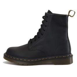 "Dr. Martens Unisex: 1460 Black ""Greasy"" Boots by Dr. Martens"