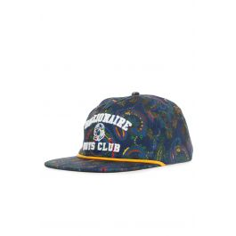 The Shamblin Snapback Hat In Peacoat by Billionaire Boys Club