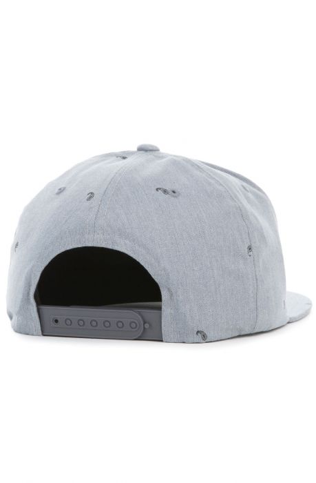 Black Scale Hat Paisley II Snapback Heather Grey 4d4f59bff302