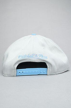 ec9d563b46c5b3 The Houston Oilers Sharktooth Snapback Hat in Baby Blue & Gray