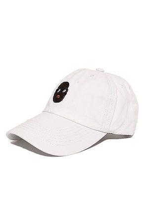 eec3a35711773 Biggie Dad Hat In White