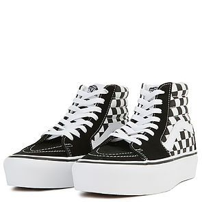 987cf55245 VANS Sneakers Women s Sk8-Hi Platform 2.0 Checkerboard True White