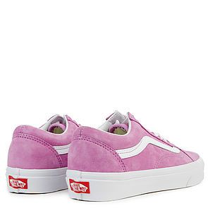 00e40d6a10 ... The Women s Old Skool Pig Suede in Violet and True White ...