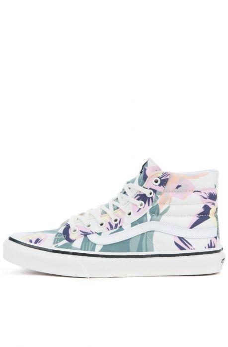 Vans Sk8 Hi Slim Vintage Floral Shoes | Vans | Zapatos vans
