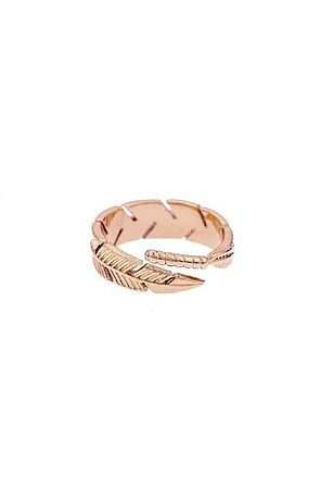 b36415c6f6147 The Mister Feather Ring - Rose Gold