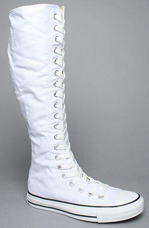 The Chuck Taylor All Star XX HI Zipper Sneaker in White