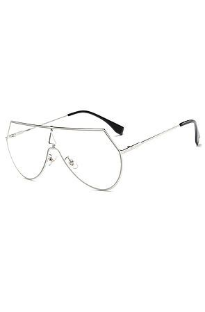 Terelli Clear Lens Glasses Silver