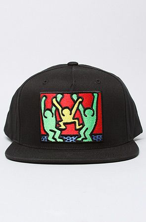 The Limited Series Keith Haring Friends Snapback in Black ebca1b662bf