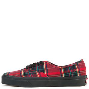 12adc40248 The Men s Authentic Plaid Mix in Red and Black ...