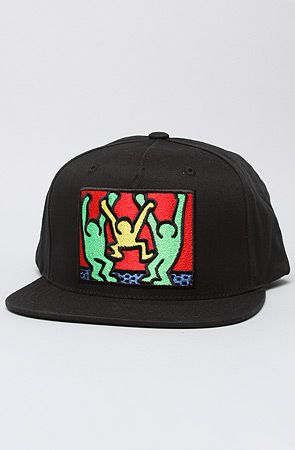 The Limited Series Keith Haring Friends Snapback in Black 3e5be7c8b41