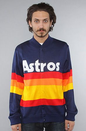 The Houston Astros Sweater In Navy Multi