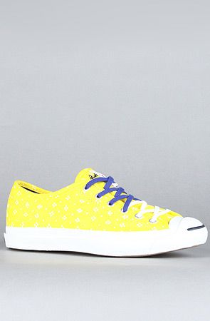 new style 6a603 fc39e The Marimekko x Jack Purcell Helen Sneaker in Yellow