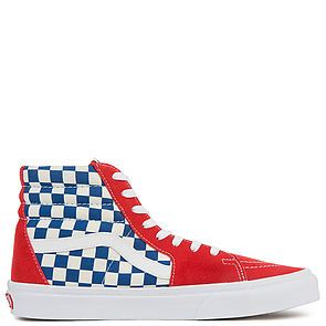 b22d721adc9292 ... The Vans Men s Sk8-Hi BMX Checkerboard in True Blue and Red ...