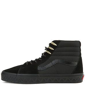 10a7a877fd The Vans x Marvel Black Panther Sk8-Hi in Black ...