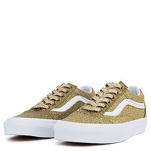 b7cdb8349f5 ... The Women s Old Skool Lurex Glitter in Gold and True White ...