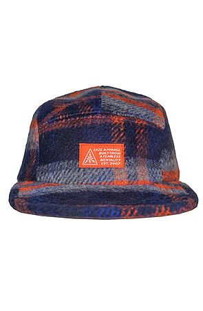 9544b5f01d4 The Blue Collar 5-Panel Strapback Hat in Rust