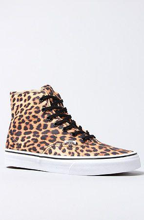 The Authentic Hi Sneaker in Leopard ... 4bf132e66