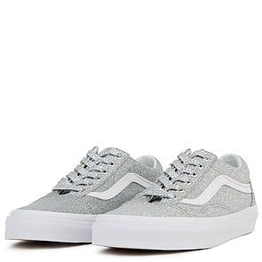 NIB Vans AUTHENTIC (CHUNKY GLITTER) TRUE WHITE Women Shoes