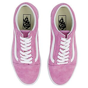 85036fb889 ... The Women s Old Skool Pig Suede in Violet and True White