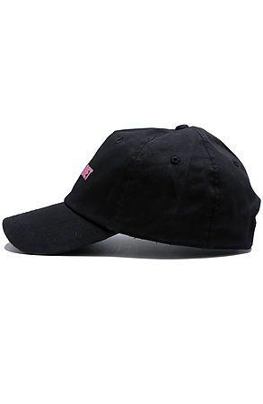 8142bb9ef1964 Pun Diet Black dad hat