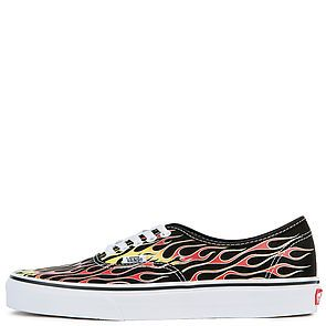 finest selection a03a0 501a5 The Men's U Authentic Vans Mash Up in Flames Black and True White