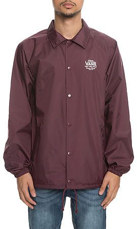 vans maroon jacket off 57%