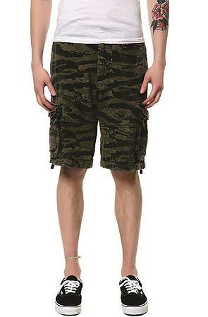b6f0ce4787 Rugged Infantry Tiger Camo Shorts