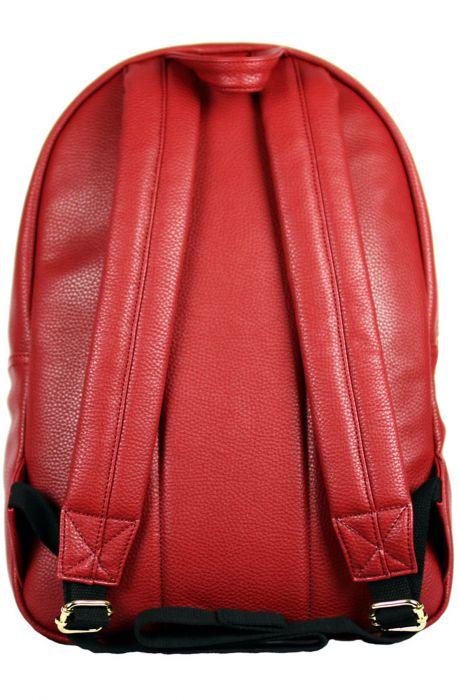 Owen Backpack Red Amp Gold