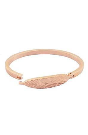 5604c33b2feac The Mister Axle Feather Bracelet - Rose Gold